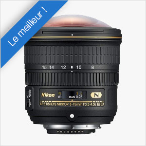 Nikkor 8-15 mm fish eye
