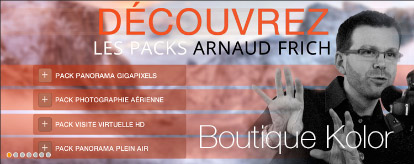 Les Packs Arnaud Frich / Kolor