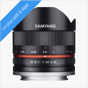 Samyang 8 mm fish eye