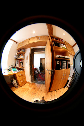 Photo prise au fish-eye circulaire